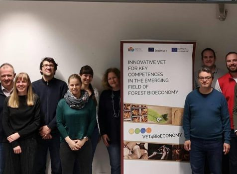 The transnational training event (C1) on forest bioeconomy was held in Vienna