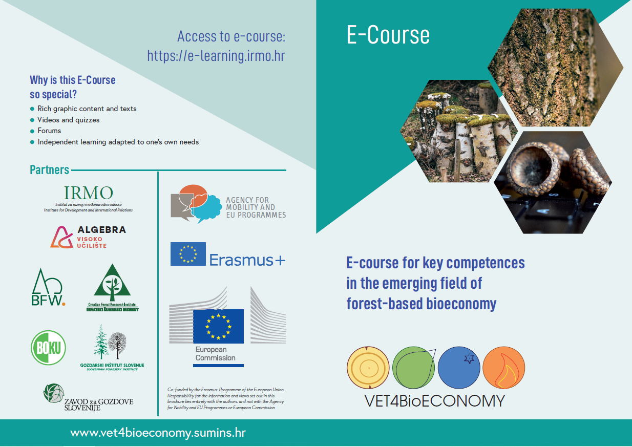 E-course for key competences in the emerging field of forest-based bioeconomy